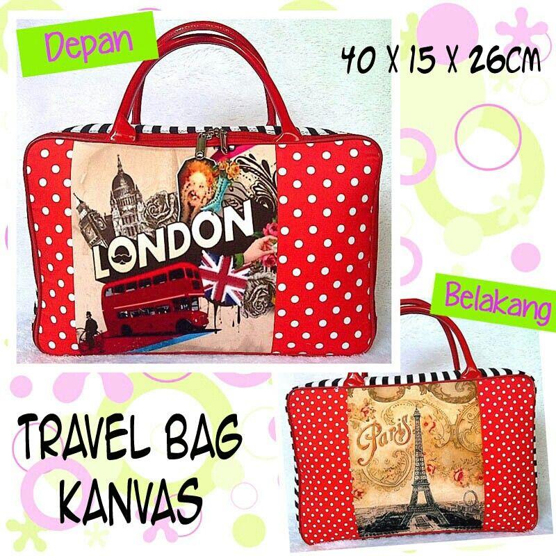 Travel Bag london paris 100rb ● order WA/Line : 081386886644 ● ig @babykiddymommyshop