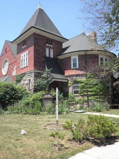 Former Memorial Christian Church - now a house owned by
