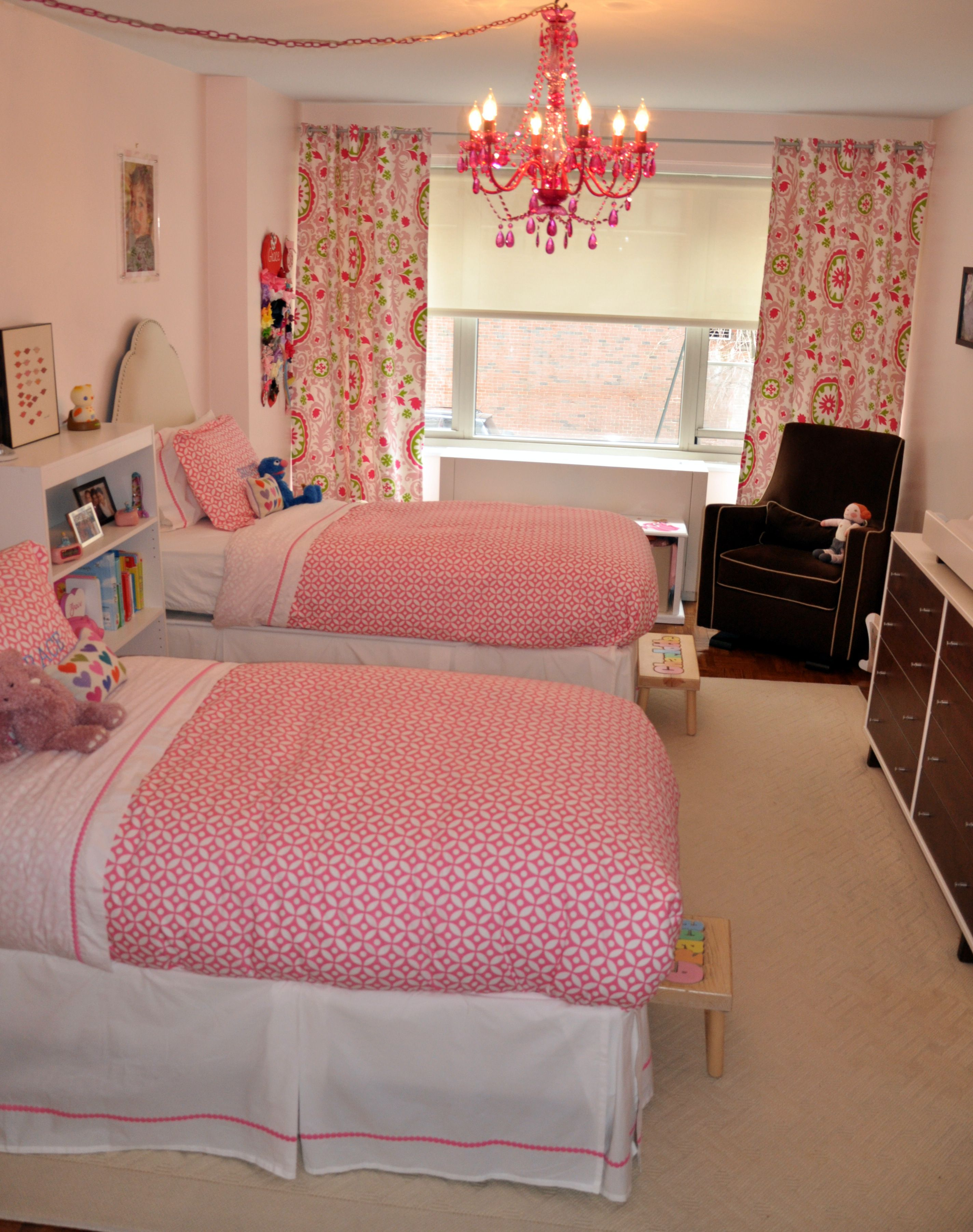 Image result for small shared bedrooms Shared girls room