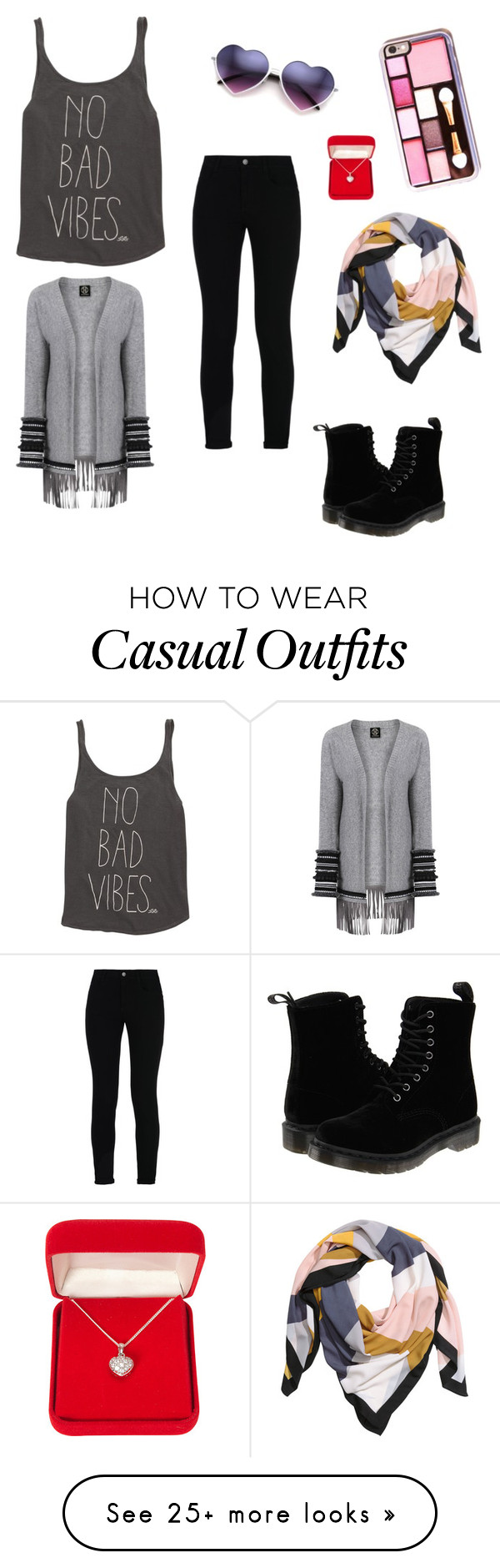 """""""Cute n Casual"""" by raine-e-day on Polyvore featuring Billabong, STELLA McCARTNEY, Alexa Starr, H&M and Dr. Martens"""