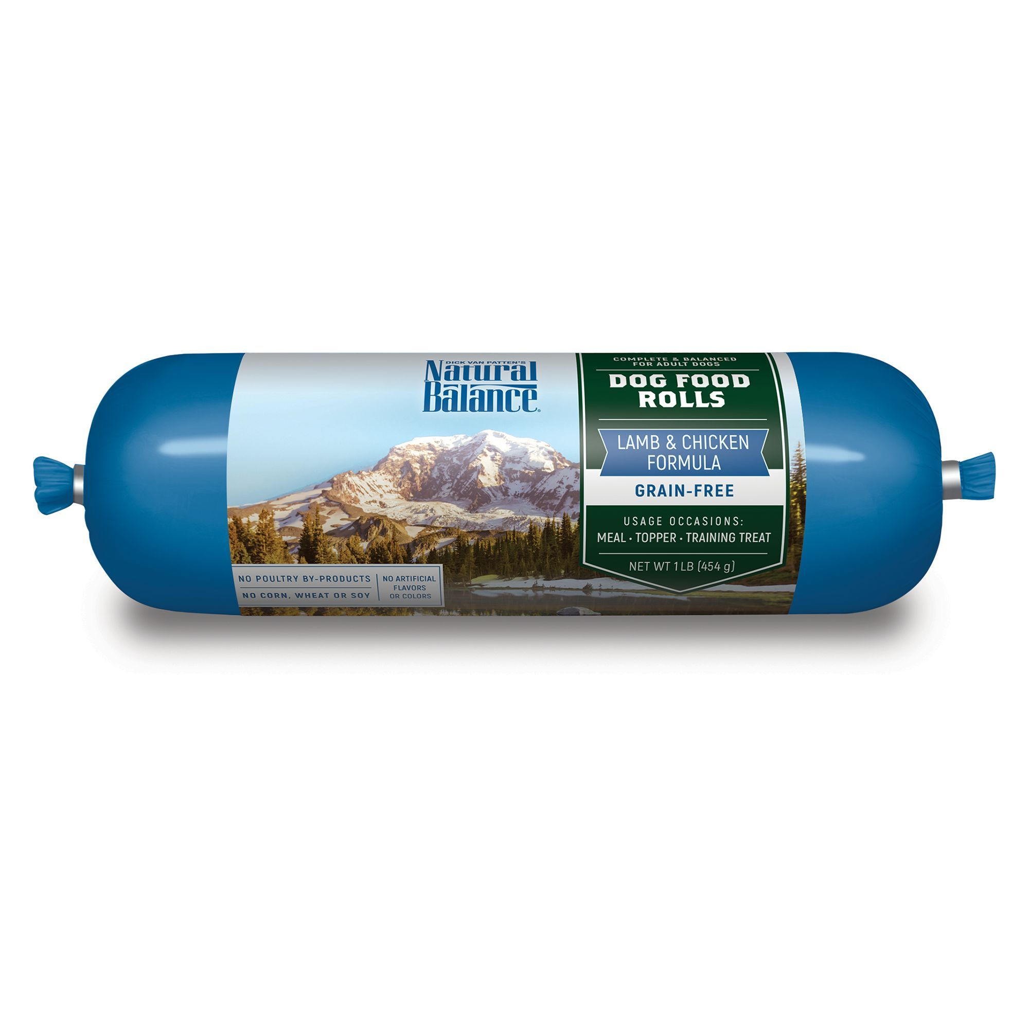 Natural Balance Adult Dog Food Rolls Lamb And Chicken Size 1 Lb