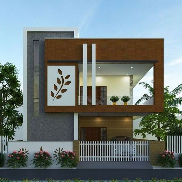 House Front Elevation Designs For Double Floor Png 700 466 2 Storey House Design Kerala House Design Small House Elevation Design