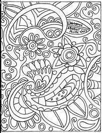 image result for crazy paisley coloring