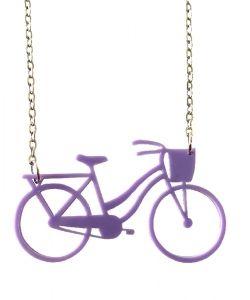 Bicicle ketju lila