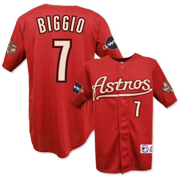 wholesale dealer 97e74 2afae houston astros biggio jersey