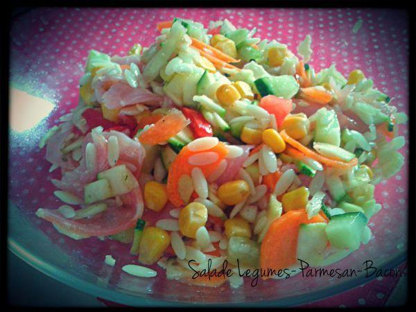 Salade multi-légumes légère -