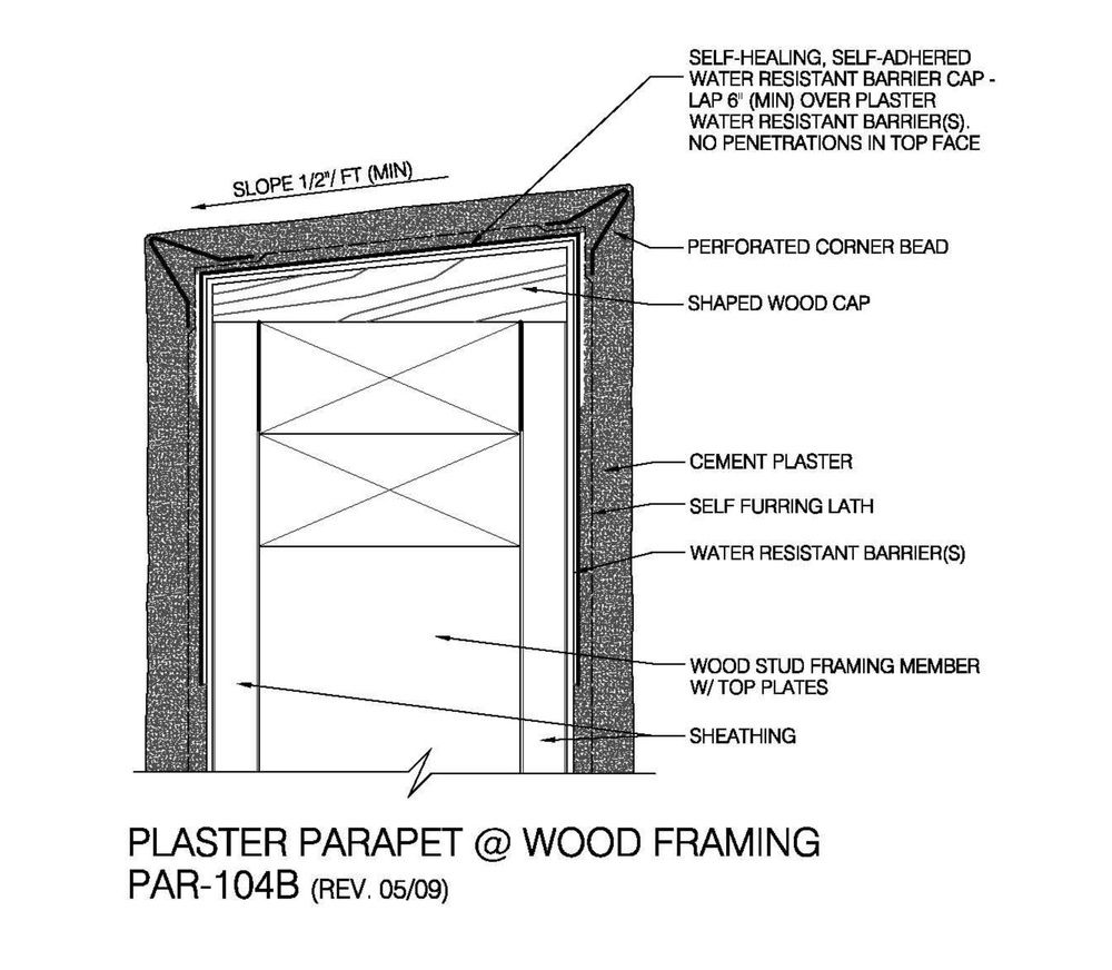 Image result for STUCCO PARAPET | DETAILS - ALL ABOUT ROOF | Pinterest