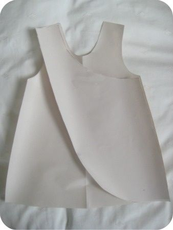 13acfabec How to draft a pattern for a reversible cross over pinafore by ...