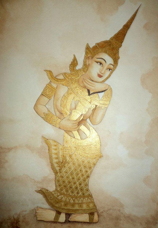 Apsara by anamorenita.deviantart.com on @deviantART | Art ...
