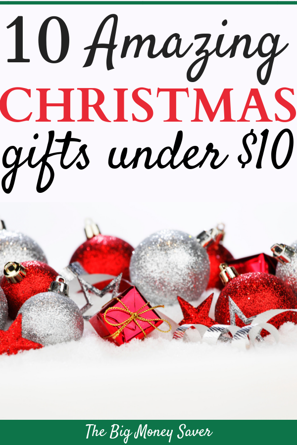 10 Amazing Christmas Gifts Under 10 Great Gifts On A Budget Amazing Christmas Gifts Frugal Christmas Christmas On A Budget