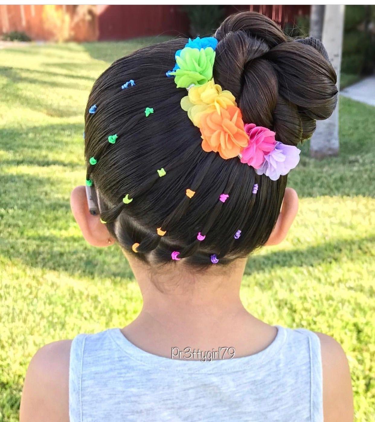 Pin by tabitha drake on kid hairstyle pinterest rainbows hair