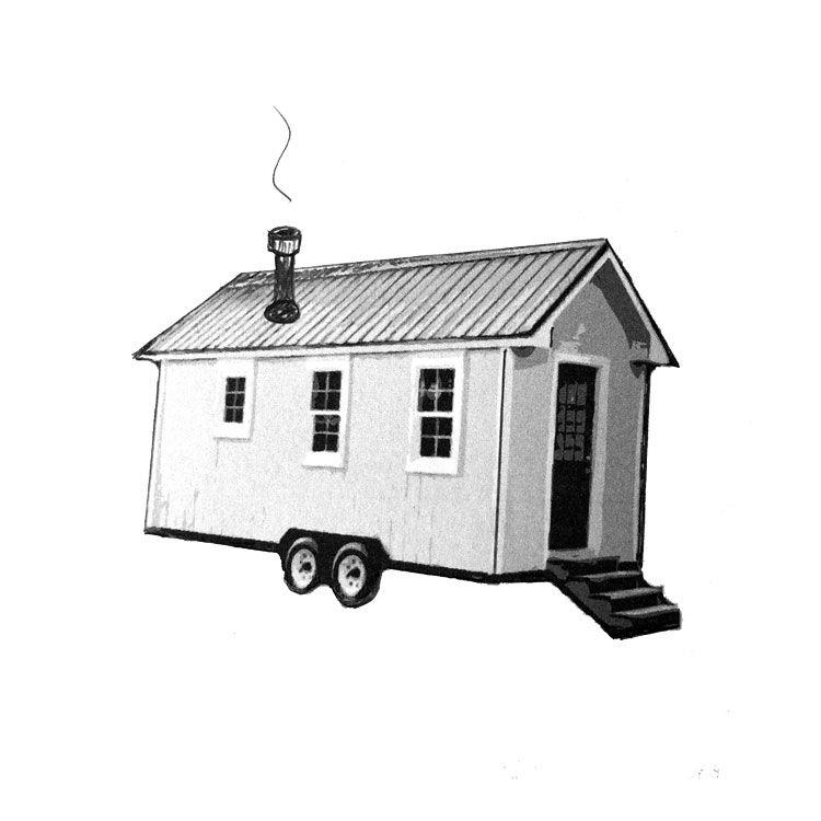 "4"" TINY HOUSE Small Stove Installation Kit – Roof Exit   Tiny Wood ..."