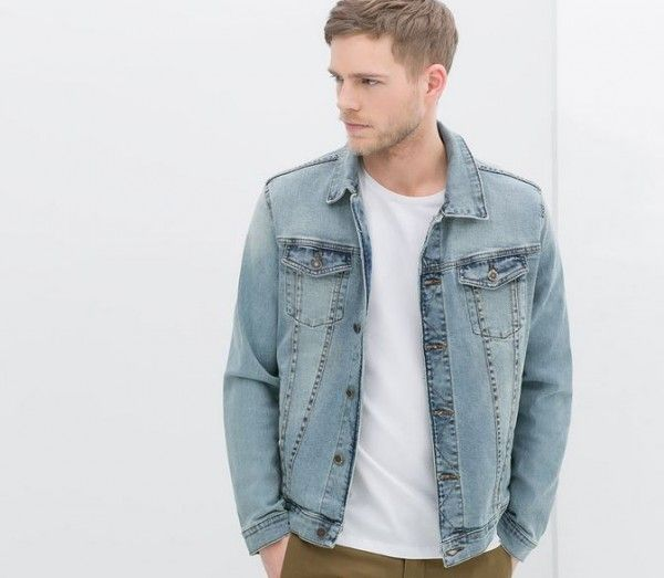 enorme sconto 4626b 74200 collezione-uomo-zara-primavera-estate-2014-giacca-jeans ...