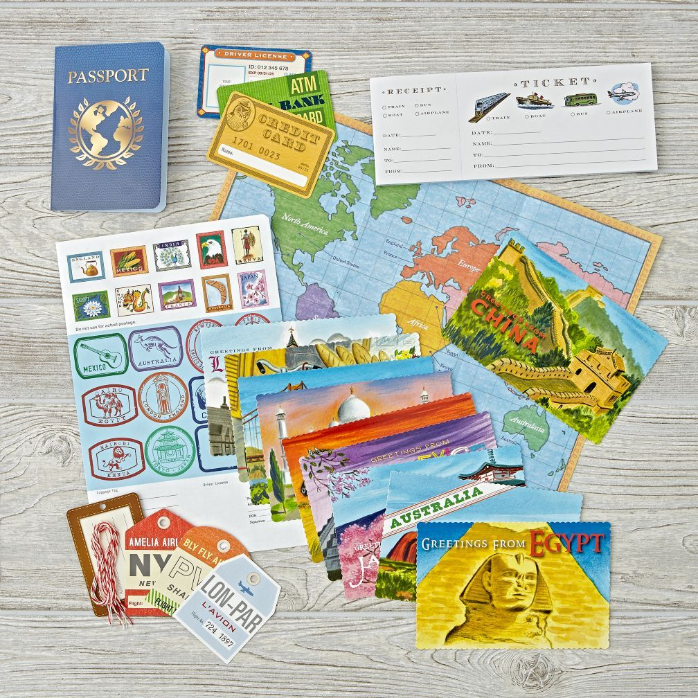 World Traveler Pretend Play The Land Of Nod Kids Playing Christmas Gifts For Girls Gifts For Kids