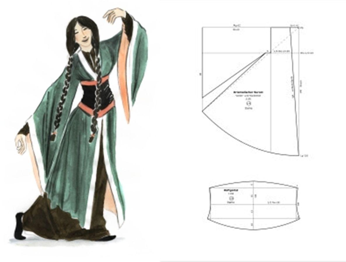 1150 Dame orientalischer Surcot, Hüftgürtel - Need to validate the ...