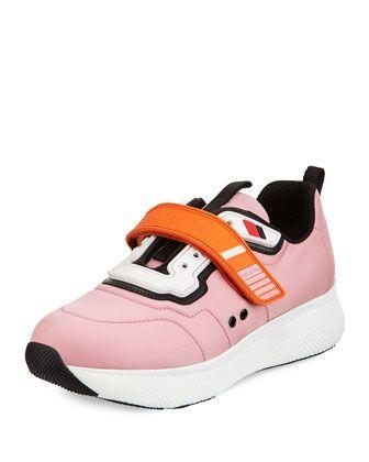 fd4662a736b8 Grip-Strap+Neoprene+Sneaker+by+Prada+at+Neiman+Marcus.
