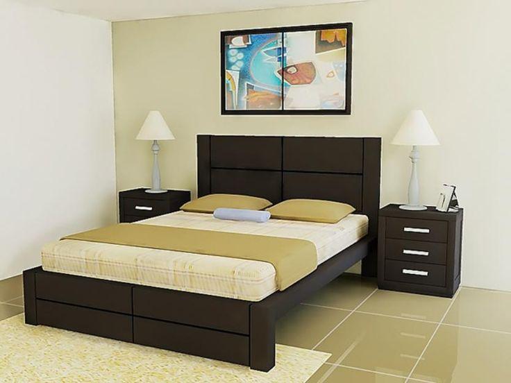 camas de madera modelos modernos - Buscar con Google Habitaciones - recamaras de madera modernas