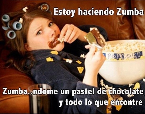 Funny Memes Zumba : Chistes y frases todos a practicar zumba frases