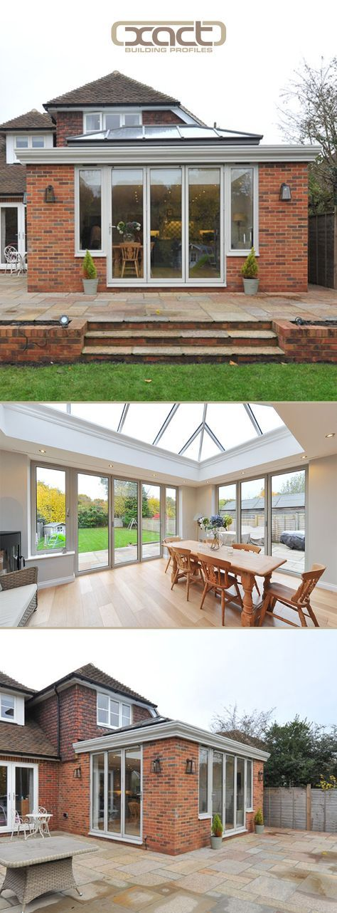 Understated elegance achieved through slim profile roof lantern | Exact Architectural Glazing