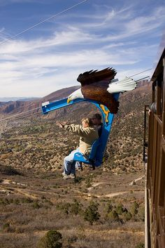 Let's go on an adventure! Try the Soaring Eagle Zip Ride at Glenwood Caverns Adventure Park in Glenwood Springs, Colorado. www.visitglenwood.com