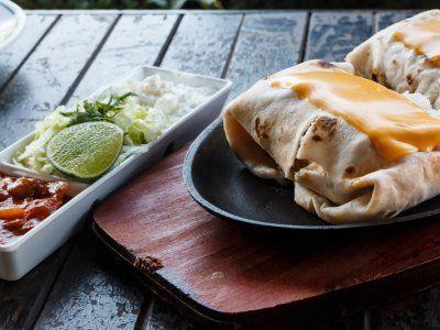 Receta de Burrito de Frijoles con Queso
