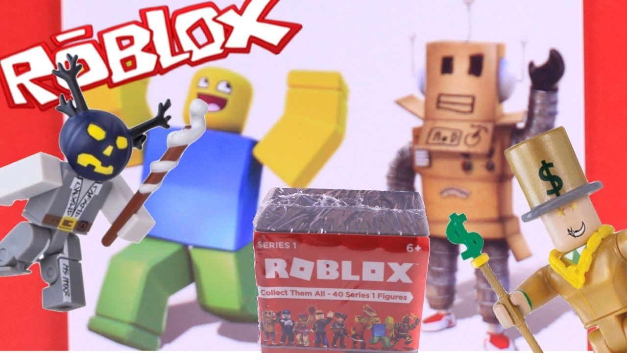 More ROBLOX Mystery Figures Blind Boxes