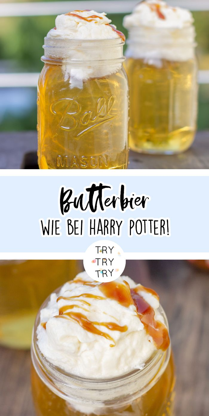 Butterbier wie bei Harry Potter #butterbierrezept