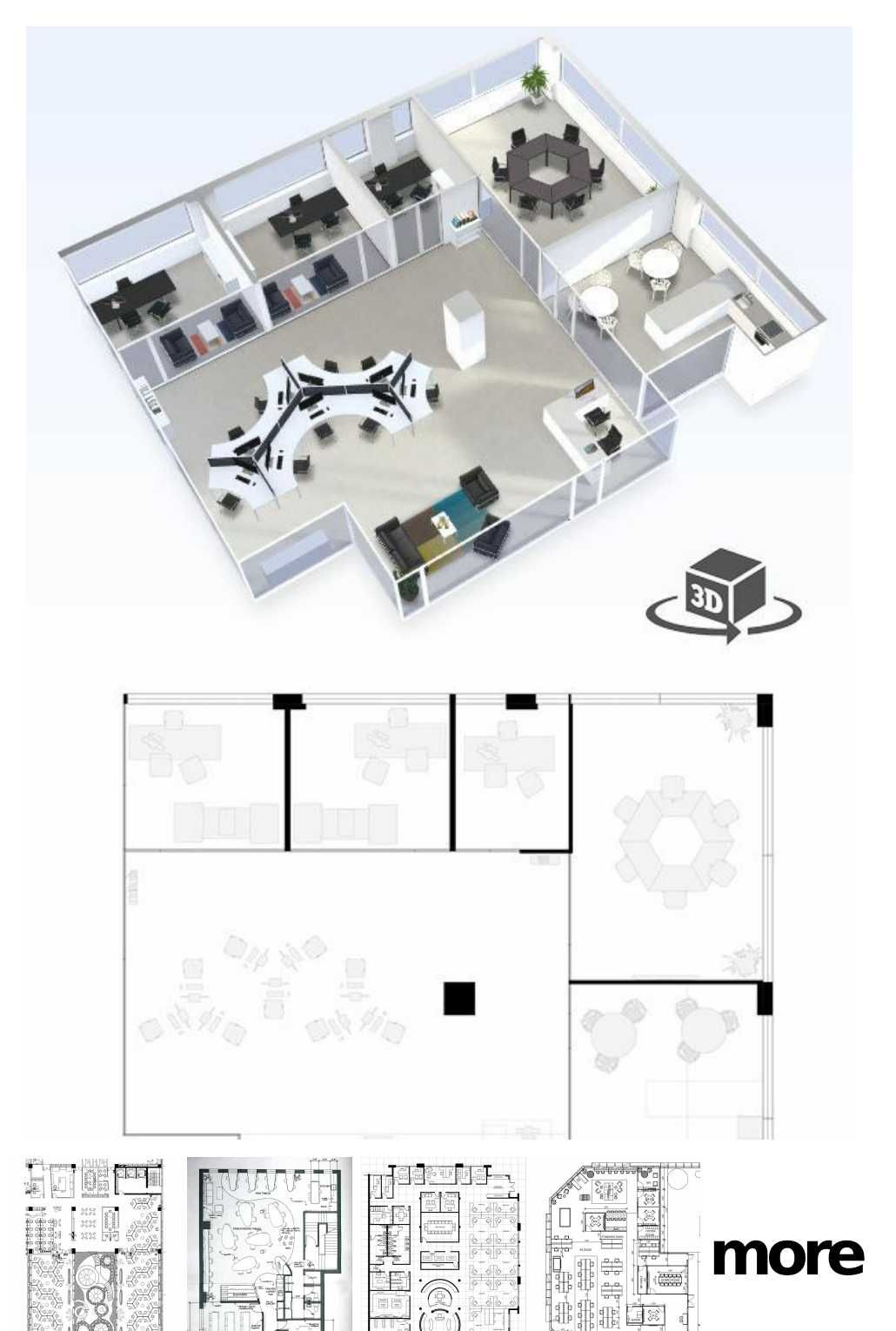 40 Gorgeous Industrial Table Design Ideas For Home Office Office Floor Plan Office Layout Plan Commercial And Office Architecture
