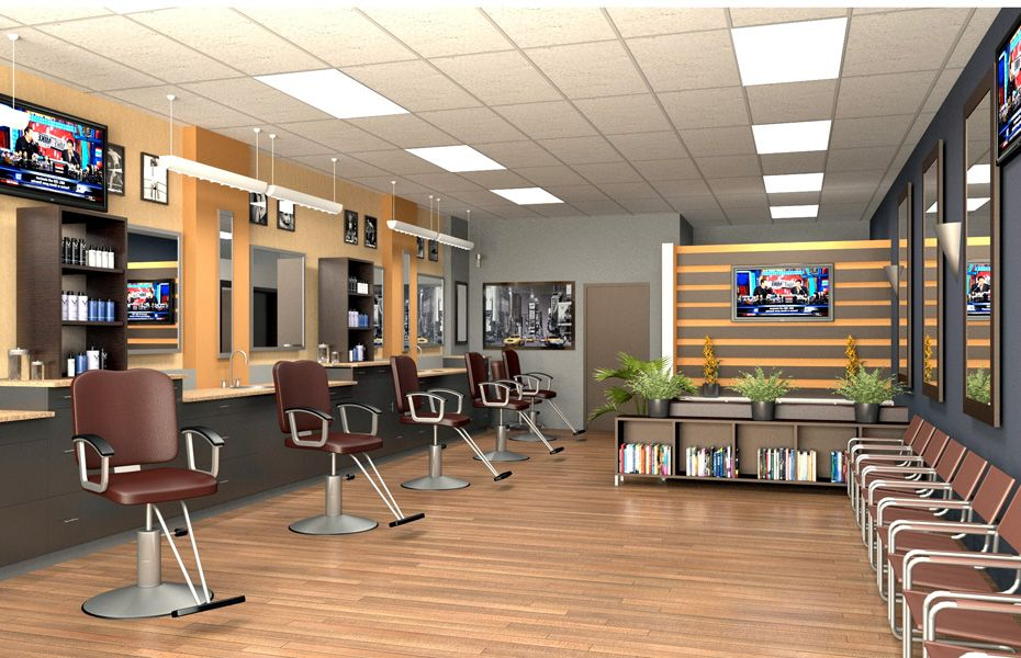 Barber Shop Design Ideas interior interior barbershop design ideas beauty salon floor plan small black and white decor retro Barber Shop Design Mock Up