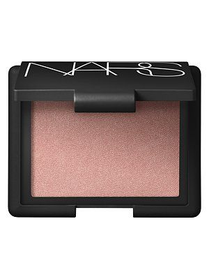 Nars Blush in Madly- doesn't look like much in the compact but it gives cheeks a beautiful rosegold glow.