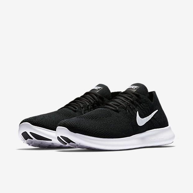 nike free run mens black and white wingtip shoes