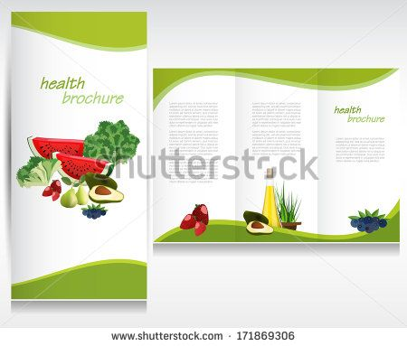 Health Brochure Layout HEALTH Pinterest