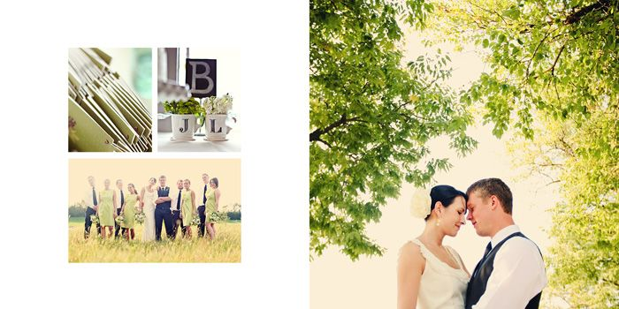 Three Sets Of InDesign Album Templates For Wedding Photographers
