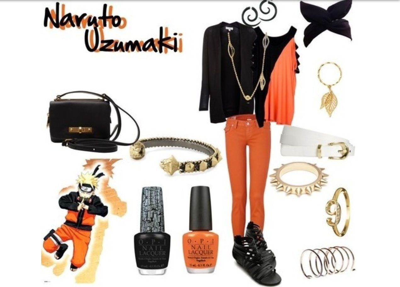 Naruto uzumaki i have to try something like this outfit