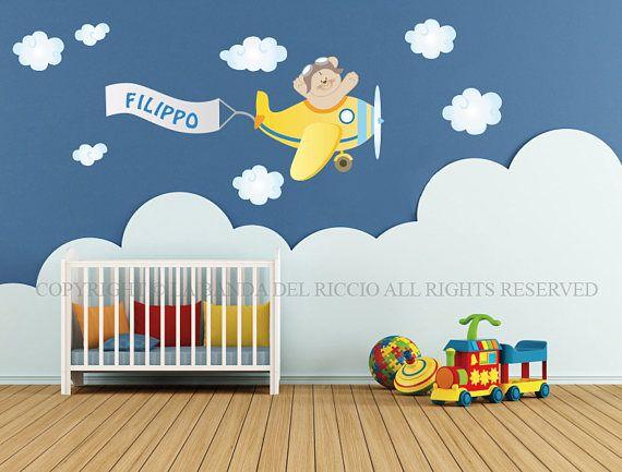 Adesivi murali bambini Wall decals Baby Wall stickers   Baby Wall ...