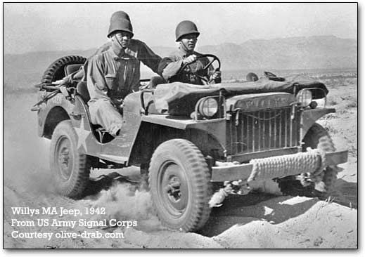 Austin Bantam And Willys Birth Of The Jeep Willys Military