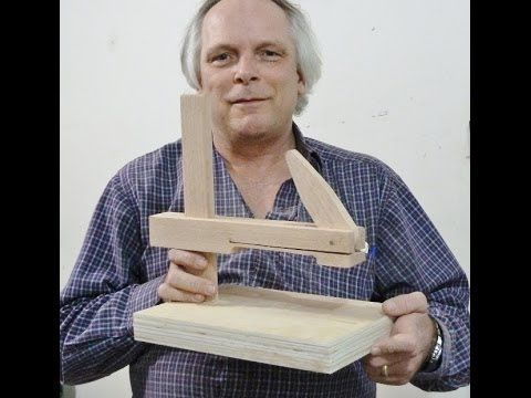 New design, upright table clamp - YouTube