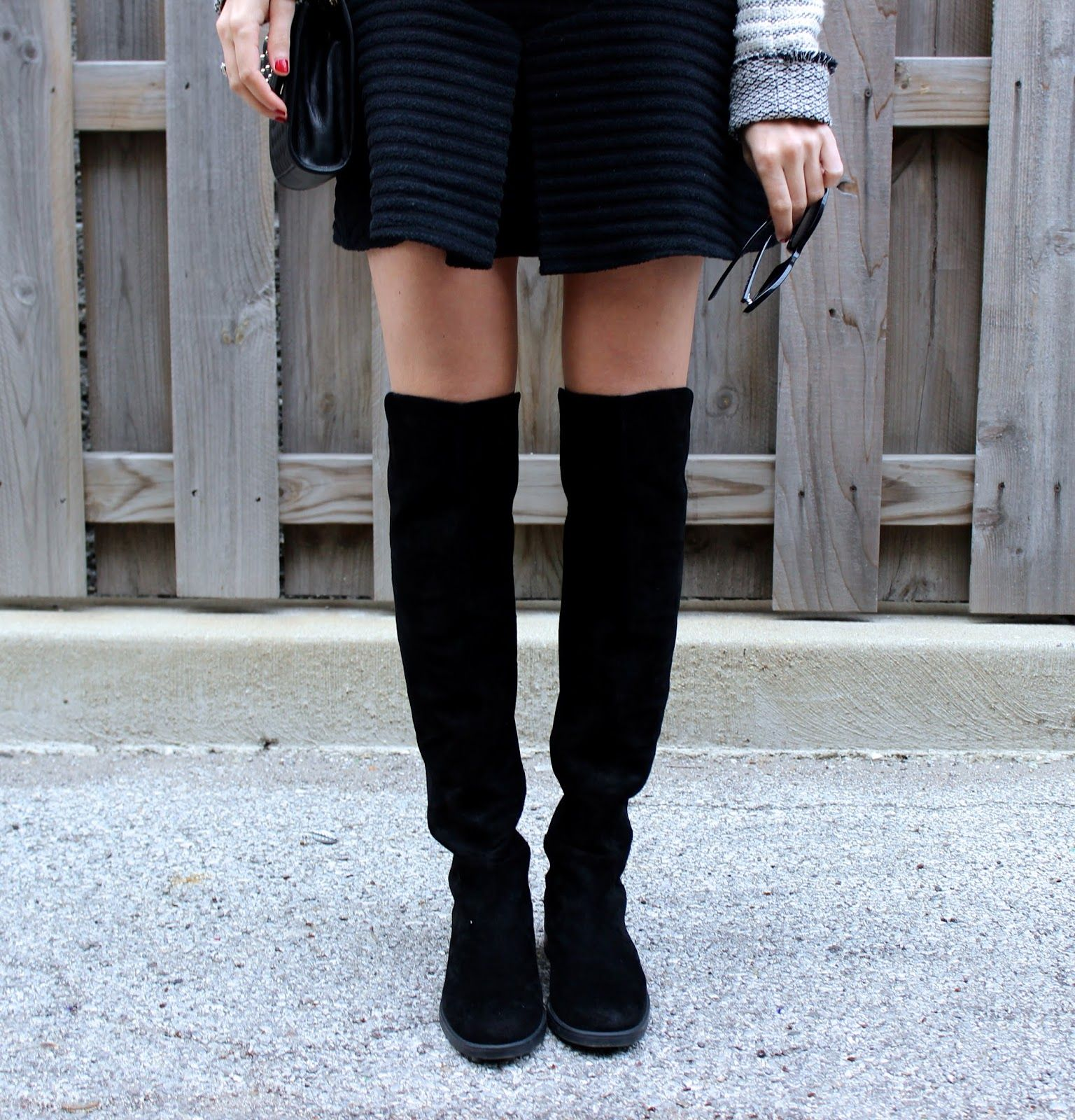 9b7ad4d7e6a bright city brunette in Blondo Eden waterproof suede over the knee boots