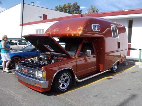 Chevy S10 Motorhomes