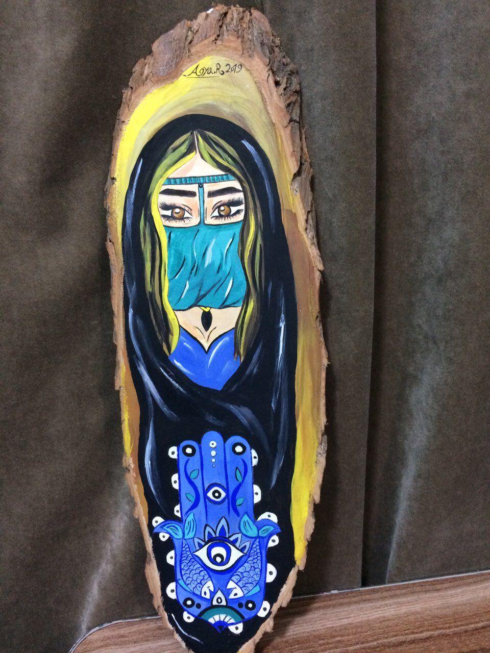 رسم على الخشب Accessories Gshock Watch Art