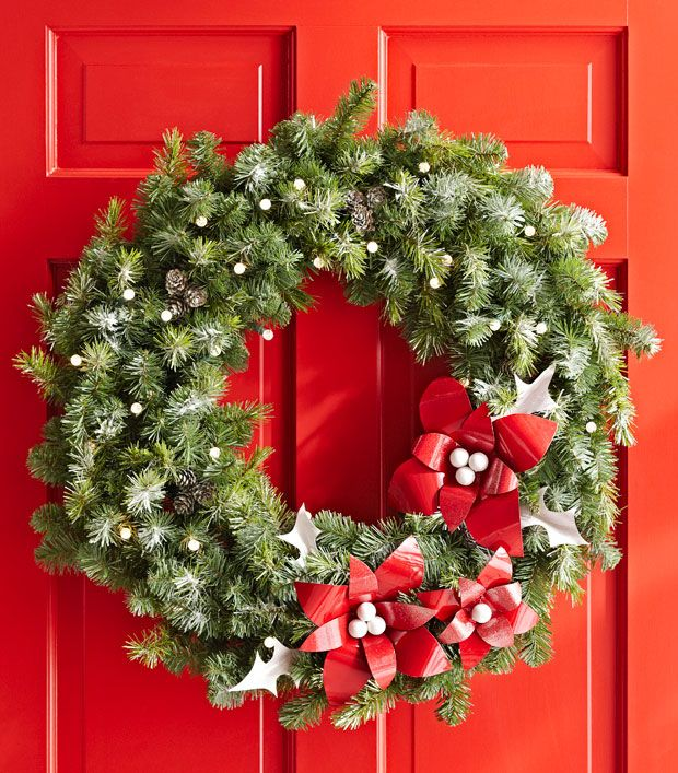 Embellished Wreath Lowe's Creative Ideas Christmas