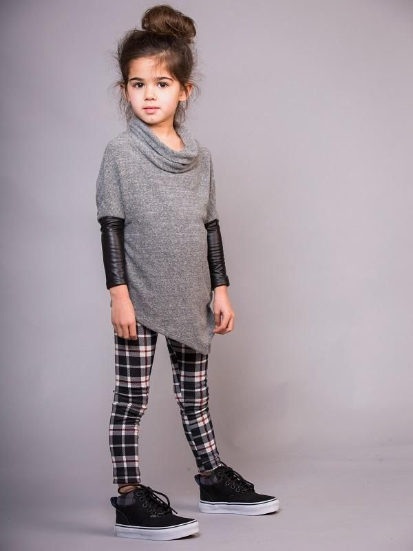 Edie Plaid Girls Leggings Plaid Girls Pants