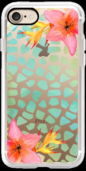 Casetify iPhone 7 Classic Grip Case - Summer vibes by Li Zamperini Art #Casetify