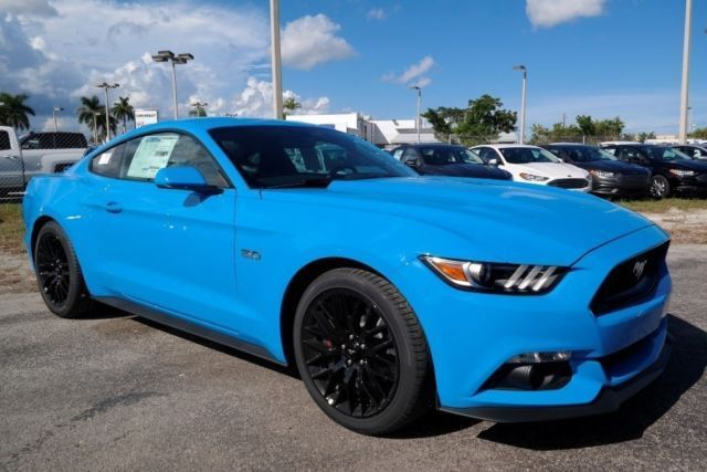 Mustang GT Grabber Blue | 1FA6P8CF9H5228328 - 2017 Mustang GT Grabber Blue #Must...