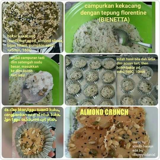 Cookies almond crunch