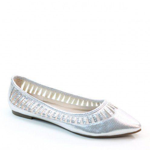 New Brieten Women's Rhinestone Gliter Comfortable Flat