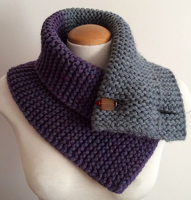 Ravelry: Two Toned Neck Warmer pattern by Mouton Rouge ...