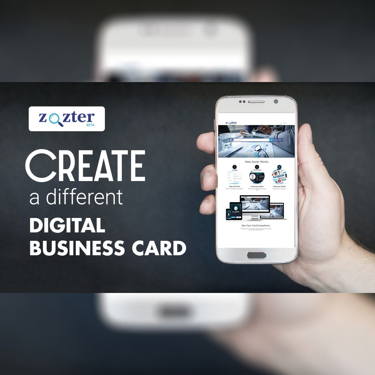 Electronic Business Card Digital Business Card Electronic Business Digital