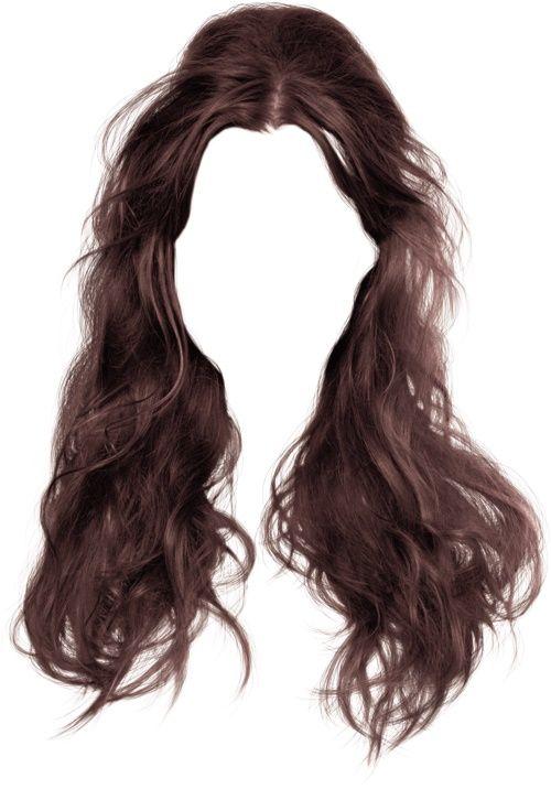 Dark Brown Punk Goth Hair Illustration Hair Png Hair Sketch