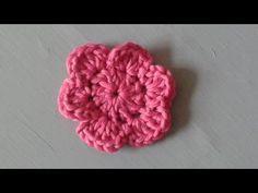 Einfache Blume Häkeln Anleitung Youtube Videos Pinterest